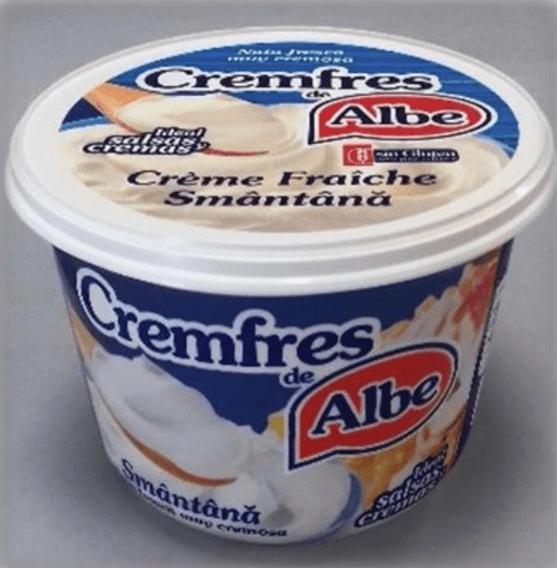 14132 – CREMFRES TARRINA 500 G ALBE