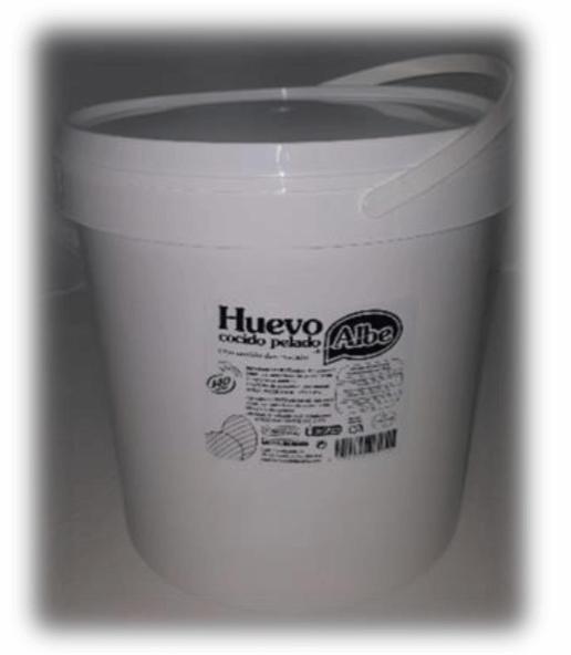 26172 – HUEVO COCIDO TARRO 140 U ALBE.