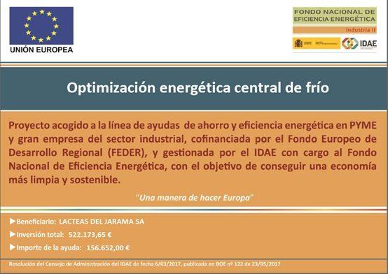 Optimización energética central de frío